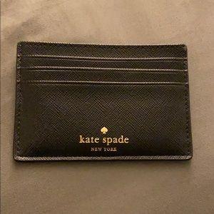 Kate Spade glitter card wallet